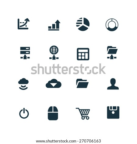 development, soft icons set on white background  #270706163