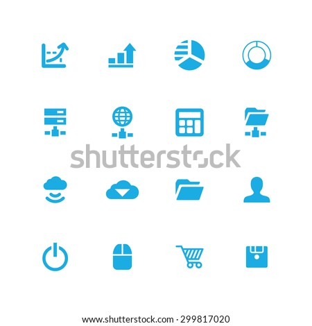development, soft icons universal set for web and mobile #299817020