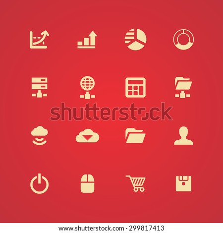 development, soft icons universal set for web and mobile #299817413
