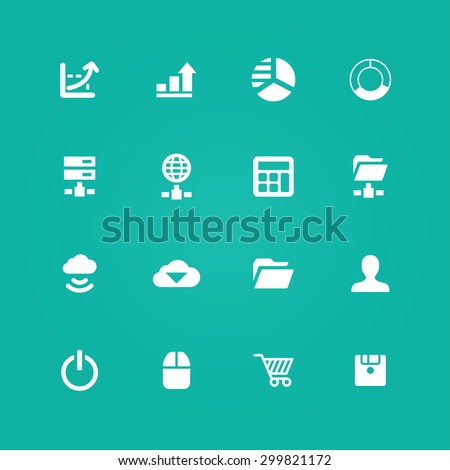 development, soft icons universal set for web and mobile #299821172