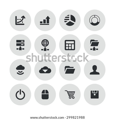development, soft icons universal set for web and mobile #299821988