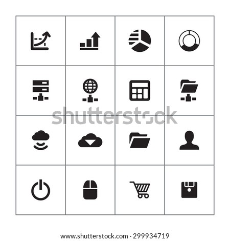 development, soft icons universal set for web and mobile #299934719
