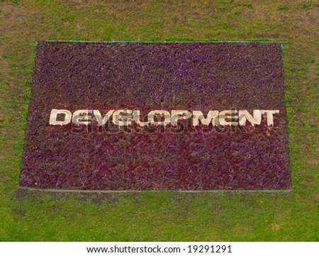 development -symbolic picture