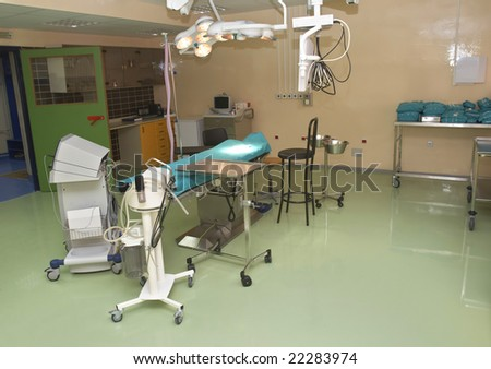 Devices And Bed Read For Surgery In Operation Room Ez Canvas