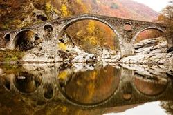 Devil's Bridge on Autunm, Silk Road, Ardino , Bulgaria