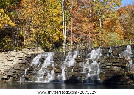 Devil's Den Waterfall Arkansas