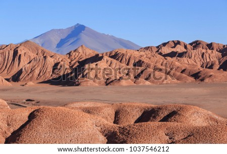Devil's Desert (Deseirto del Diblo), Tolar Grande, Salta, Argentina Stock fotó ©