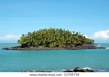 Devil's island in French Guiana where Dreyfus was exiled