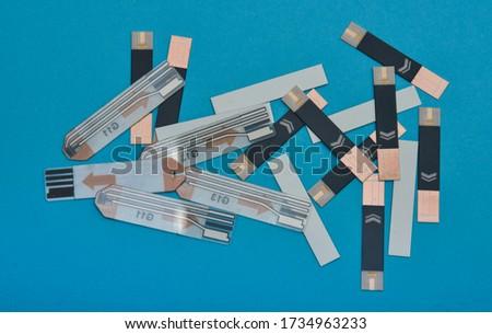 Diabetes Glucose Test Strip.Blood Glucose Test Strips