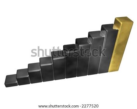 diagram Stock foto ©