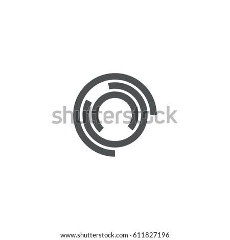 diagram icon. sign design