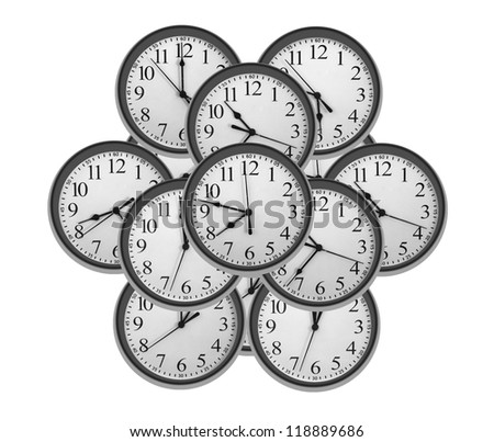 Dials of clocks