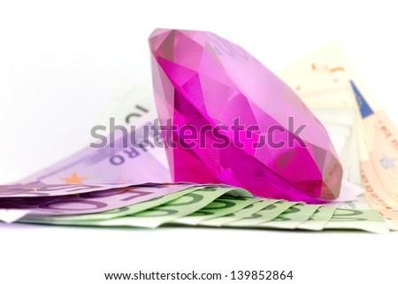 Diamond and money