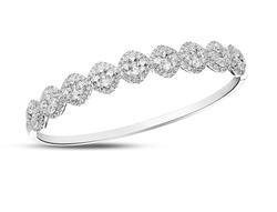 Diamond bracelet bangle
