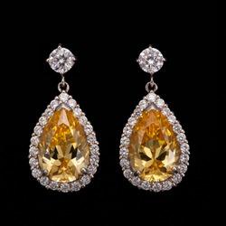 Diamond fancy earrings
