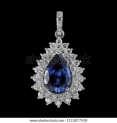 Diamond pendant jewellery #1113877928