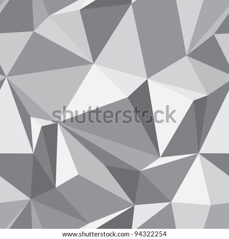 Diamond seamless geometric pattern - abstract polygon texture