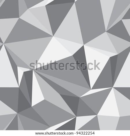 Diamond seamless geometric pattern - abstract polygon texture