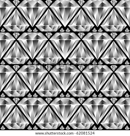 diamond seamless pattern, abstract texture; art illustration; for vector format please visit my gallery