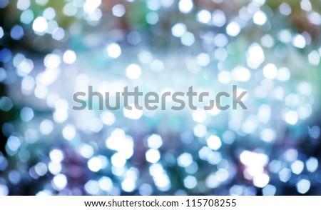 Diamond shapes reflexes like shining lights - stock photo