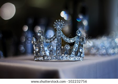 Diamond Tiara or Crown for Prom and Wedding