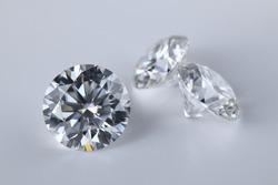 Diamonds. Luxury Big Carat Gemstones