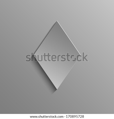 Diamonds Rustrakehner Color on a gray background