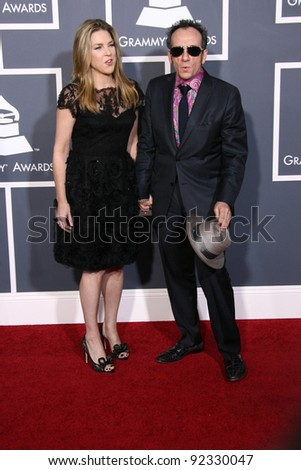 Diana Krall and Elvis Costello  at the 53rd Annual Grammy Awards, Staples Center, Los Angeles, CA. 02-13-11