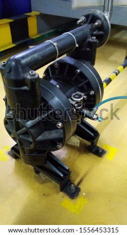 Diaphragm pump, compressed air as a power source, it can be used in liquid corrosive liquids with particles, high viscosity, volatile, flammable, highly toxic liquids. #1556453315