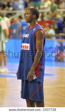Diawara France basketball Nuggets - stock photo
