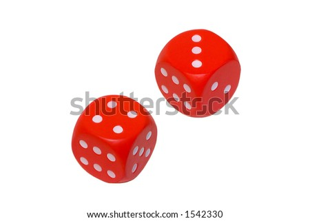 Dice showing 7 #1542330