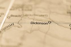 Dickinson, North Dakota, USA.
