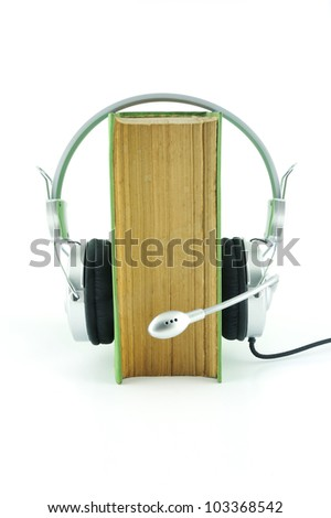 Dictionary and headphone