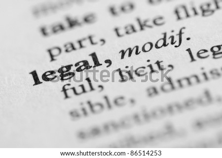 Dictionary Series - Legal