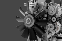 Diesel engine. Modern technologies for production of internal combustion engines.