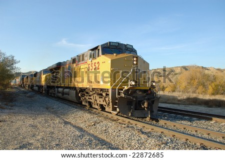 diesel locomotives and freight...