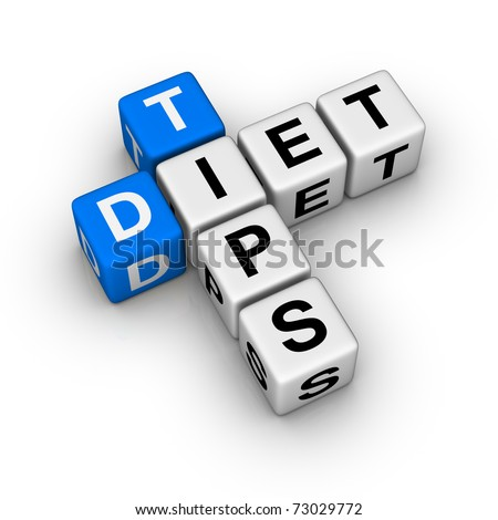 Diet Tips (cubes crossword series)