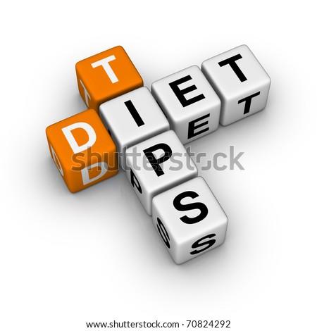 Diet Tips (3D crossword orange series)
