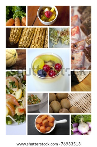 Dietary collage