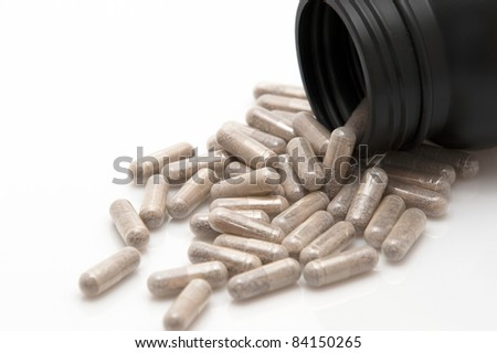Dietary supplement in pill form
