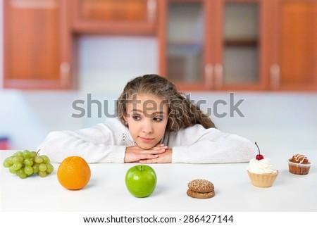 Dieting, Choice, Food.
