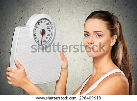 Dieting, Weight Scale, Women.