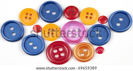 different color buttons - wallpaper