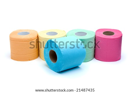 Coloured Toilet Paper Toilet Paper Royal Blue
