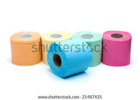 Coloured Toilet Paper Toilet Paper Royal Blue