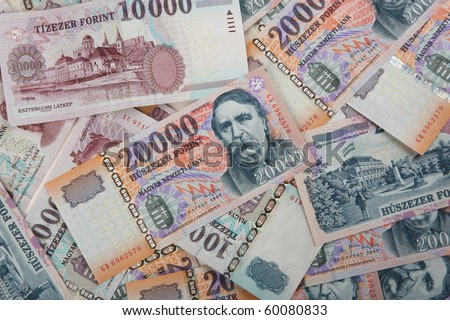 different hungarian forints