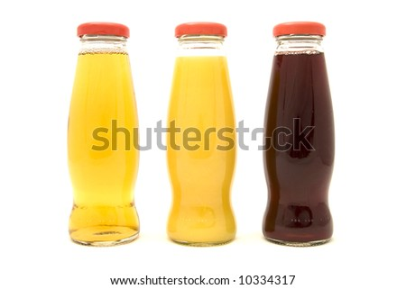 Different Juice Bottles