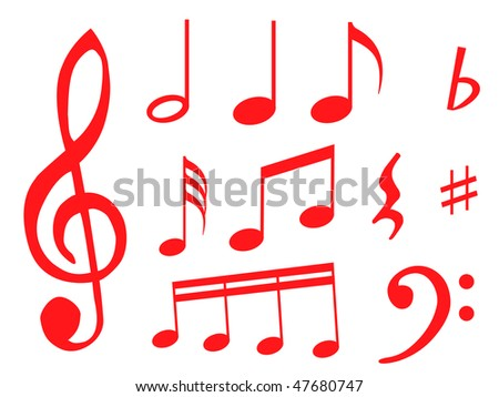 images of music notes symbols. of music notes as symbol