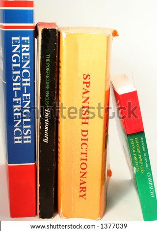 different language dictionaries