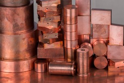 Different profiles of copper as copper scrap